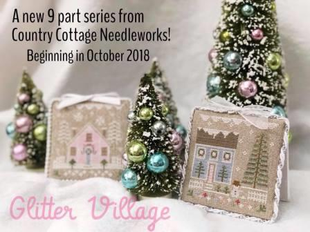 Country Cottage Needleworks - Glitter Village Part 1-Country Cottage Needleworks - Glitter Village