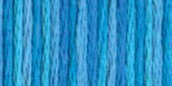 DMC - Color Variations Pearl Cotton - Size 5 - #4022 Mediterranean Sea-DMC - Color Variations Pearl Cotton - Size 5 - 4022 Mediterranean Seacross, stitch, needlework, embroidery, needlepoint, embroidery, threads,