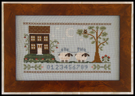 Little House Needleworks - The Counting House-Little House Needleworks, The Counting House,
