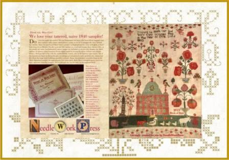 NeedleWorkPress - A Needlework Enthusiast's 2019 Book Of Days-NeedleWorkPress - A Needlework Enthusiasts 2019 Book Of Days, calendar, monthly planner, cross stitch, samplers
