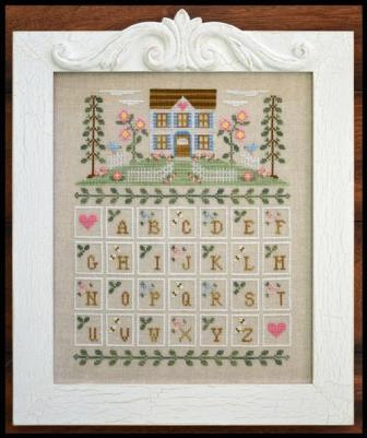 Country Cottage Needleworks - Cottage Alphabet-Country Cottage Needleworks - Cottage Alphabet