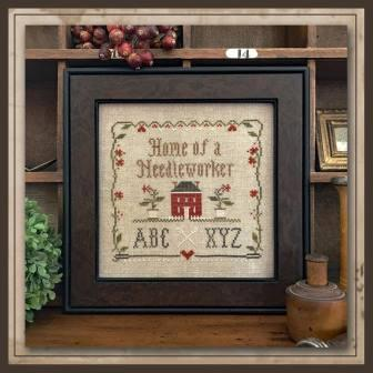 Little House Needleworks - Home of a Needleworker, Squared - Nashville Exclusive