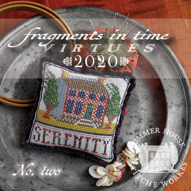 Summer House Stitche Workes - Fragments in Time - Virtues 2020 #2 Serenity-Summer House Stitche Workes - Fragments in Time - Virtues 2020 2 Serenity, cross stitch, home,