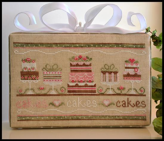Country Cottage Needleworks - Party Cakes-Country Cottage Needleworks - Party Cakes - Cross Stitch Pattern