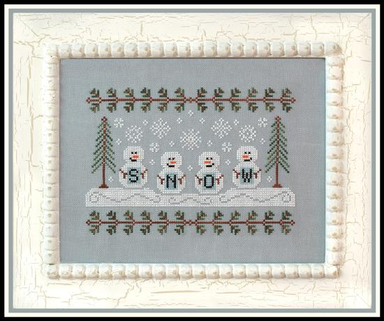 Country Cottage Needleworks - Snowmen-Country Cottage Needleworks - Snowmen, snowman, winter, Christmas,