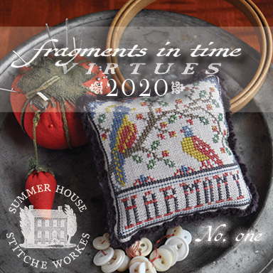 Summer House Stitche Workes - Fragments in Time - Virtues 2020 #1 Harmony-Summer House Stitche Workes - Fragments in Time - Virtues 2020 1 Harmony, birds, series, cross stitch