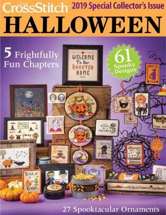 Just Cross Stitch - 2019 Halloween Special Collector's Issue-Just Cross Stitch - 2019 Halloween Special Collectors Issue, cross stitch, projects, ornaments,