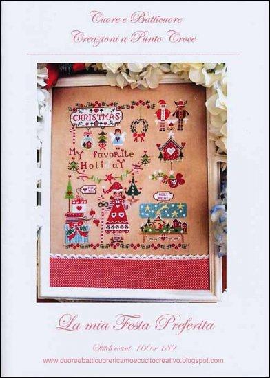 Cuore e Batticuore - La mia Festa Prederita-Cuore e Batticuore - La mia Festa Prederita, Christmas, holiday, festive, reindeer, cross stitch
