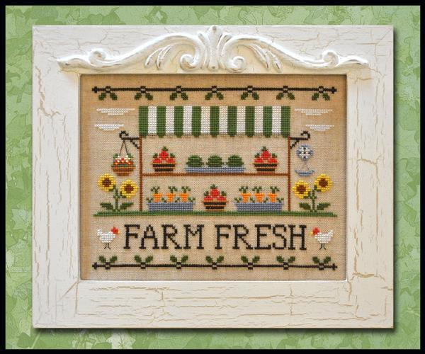 Country Cottage Needleworks - Farm Fresh - Cross Stitch Pattern