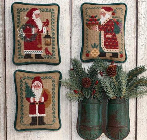 Prairie Schooler - Santas Revisited II (1984,1989,1991)-Prairie Schooler - Santas Revisited II 1984,1989,1991, Santa Claus, Christmas, ornaments