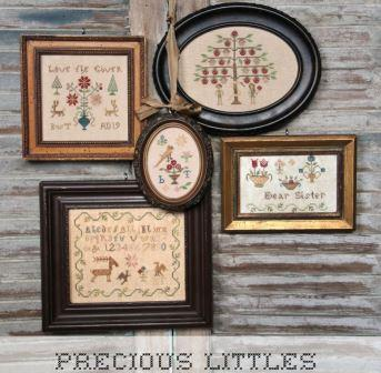 Heartstring Samplery - Precious Littles-Heartstring Samplery - Precious Littles, smalls, samplers, cross stitch, pictures,