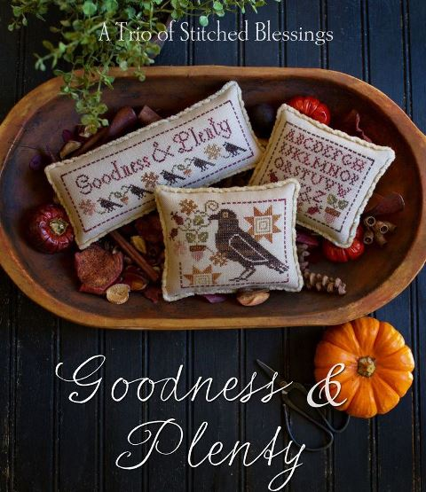 Plum Street Samplers - Goodness & Plenty-Plum Street Samplers - Goodness  Plenty, pincushions,