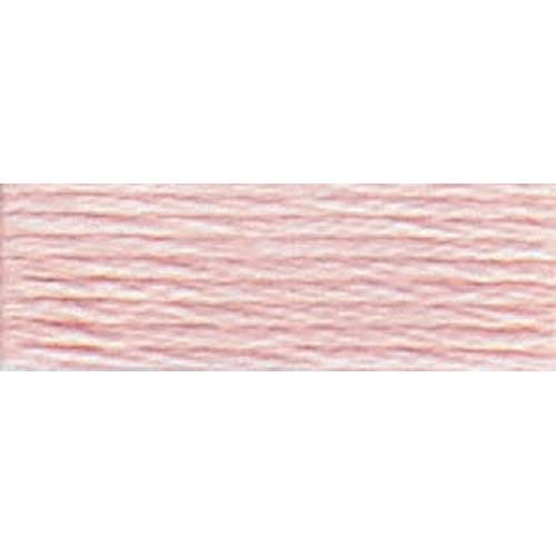 DMC - Pearl #5 Cotton Skein - 0225 Ultra Very Lt. Shell Pink-DMC - Pearl 5 Cotton Skein - 0225 Ultra Very Lt. Shell Pink