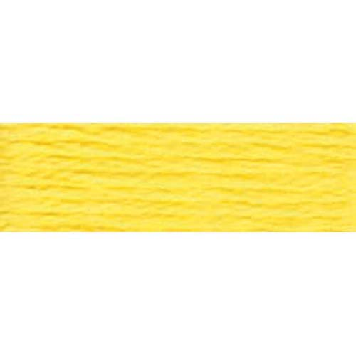 DMC - Pearl #5 Cotton Skein - 0307 Lemon-DMC - Pearl 5 Cotton Skein - 0307 Lemon