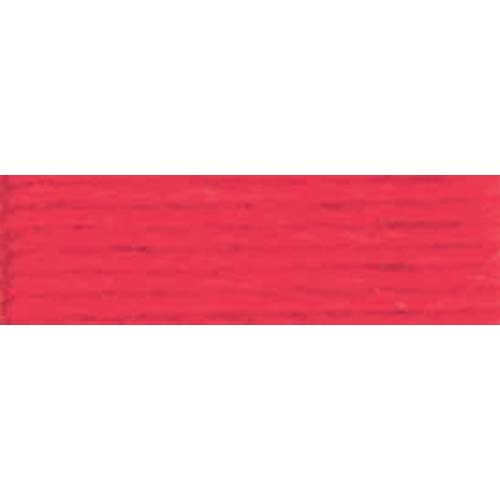 DMC - Pearl #5 Cotton Skein - 0321 Red-DMC - Pearl 5 Cotton Skein - 0321 Red