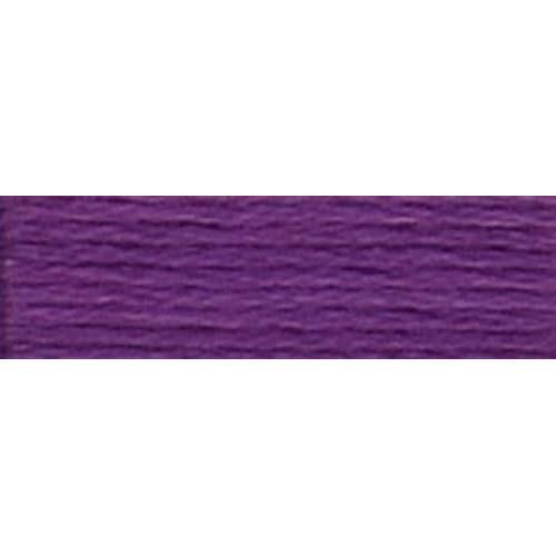 DMC - Pearl #5 Cotton Skein - 0327 Dk. Dk. Violet-DMC - Pearl 5 Cotton Skein - 0327 Dk. Dk. Violet