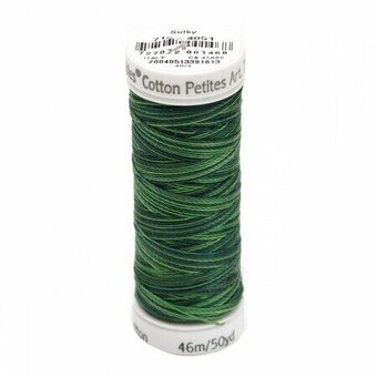 Sulky 12 Wt. Cotton Petites Blendables - Forever Green #712-4051-Sulky 12 Wt. Cotton Petites Blendables - Forever Green 712-4051, THREADS, FLOSS, EMBROIDERY. CROSS STITCH