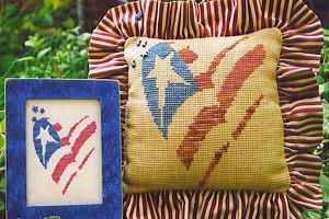 SamSarah Design Studio - Sweet Liberty - Cross Stitch Pattern-SamSarah Design Studio  - Sweet Liberty - Cross Stitch Pattern