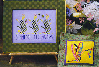 SamSarah Design Studio - Spring Flowers - Cross Stitch Pattern