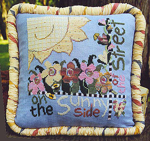 SamSarah Design Studio - Sunny Side of the Street - Cross Stitch Pattern