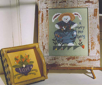 SamSarah Design Studio - A Merry Little Spring - Cross Stitch Pattern