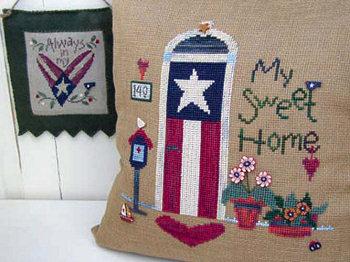 SamSarah Design Studio - My Sweet Home - Cross Stitch Pattern-SamSarah Design Studio  - My Sweet Home - Cross Stitch Pattern