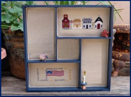 Faithwurks Designs - Americana Shadowbox Mystery Series - Part 2 Our Flag