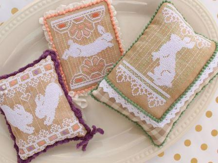 Lindy Stitches - Bunny Lace Trio-Lindy Stitches - Bunny Lace Trio, Easter,