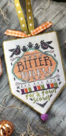 Hands On Design - Scary Apothecary - Bitter Brew-Hands On Design - Scary Apothecary - Bitter Brew, Halloween, witchs brew, cross stitch