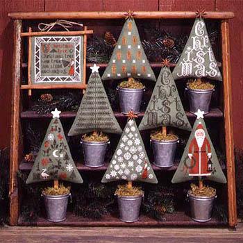 Prairie Schooler - Christmas Trees-Prairie Schooler - Christmas Trees