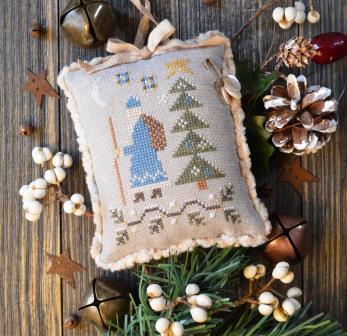 Annie Beez Folk Art - Tallow Berry Santa-Annie Beez Folk Art - Tallow Berry Santa, Santa Claus, Christmas, Christmas Tree, gifts,