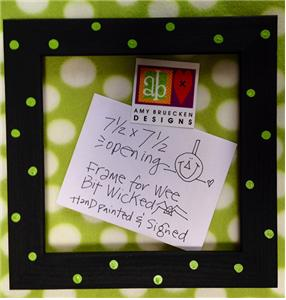 Amy Bruecken Designs - Wee Bit Wicked - Frame-Amy Bruecken Designs - Wee Bit Wicked - Frame, Limited Edition, Halloween, finishing,
