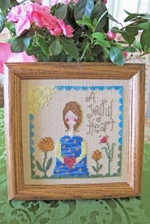 From The Heart - A Joyful Heart-From The Heart - A Joyful Heart, A Joyful Heart, Cross Stitch,love, marriage, hearts,