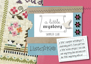 Lizzie Kate - A Little Mystery Sampler - Part 1-Lizzie Kate - A Little Mystery Sampler, Summer samplers,