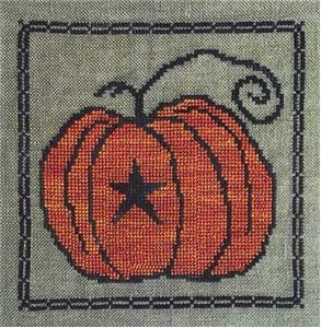 Artful Offerings - Prim Pumpkin-Artful Offerings - Prim Pumpkin, fall, pumpkin pie. cross stitch