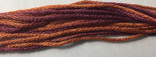 Ship's Manor Threads - Autumn Sunset-Ships Manor Threads - Autumn Sunset, tan floss,