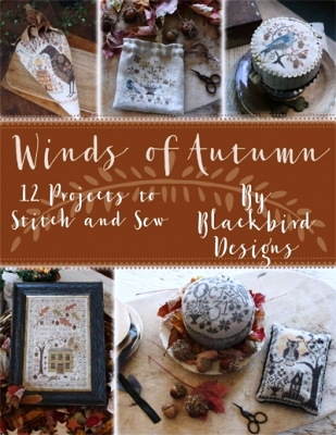Blackbird Designs - Winds of Autumn-Blackbird Designs - Winds of Autumn, Fall, harvest, cross stitch
