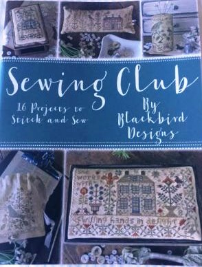 Blackbird Designs - Sewing Club-Blackbird Designs - Sewing Club, cross stitch, stitching, book, samplers,