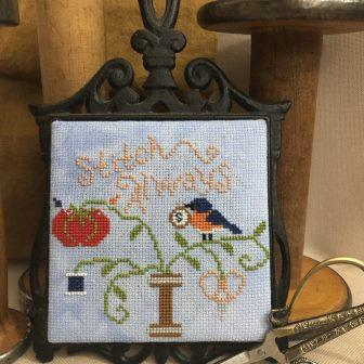 Bendy Stitchy - Stitch Always-Bendy Stitchy - Stitch Always, cross stitch, bird, needles,