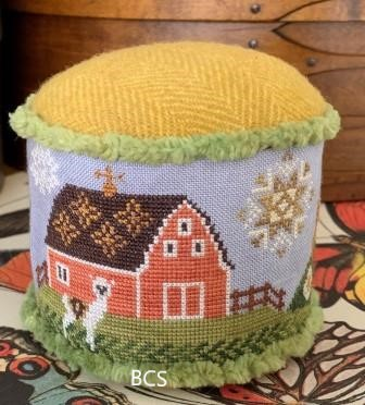 The Blue Flower - Alpaca Farm-The Blue Flower - Alpaca Farm, llama, farms, quilts, drum, swing set, cross stitch