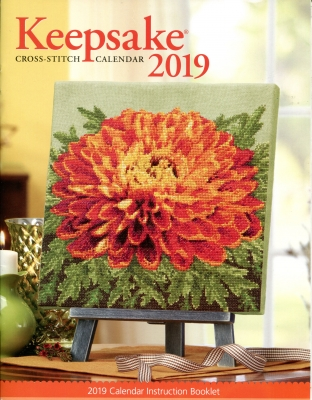 Cross Stitch & Needlework Keepsake Calendar 2019-Cross Stitch  Needlework Keepsake Calendar 2019