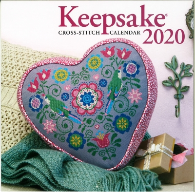 Cross Stitch & Needlework Keepsake Calendar 2020-Cross Stitch  Needlework Keepsake Calendar  2020, projects,