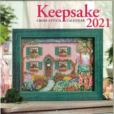 Cross Stitch & Needlework Keepsake Calendar 2021-Cross Stitch  Needlework Keepsake Calendar 2021, PROJECTS, MONTHLY, cross stitch,