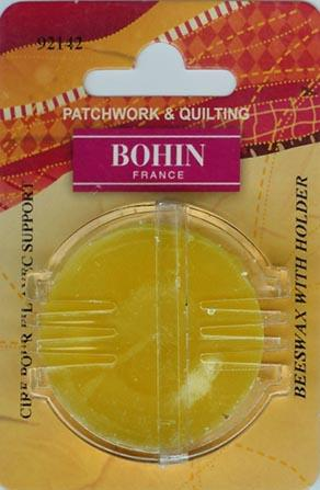 Bohin - Beeswax with Dispenser-Bohin, Beeswax with Dispenser