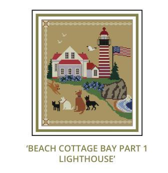 Beach Cottage Needleworks - Beach Cottage Bay Mystery Series - Part 1 The Lighthouse