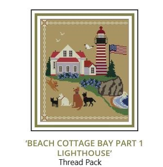 Beach Cottage Needleworks - Beach Cottage Bay Thread Pack-Beach Cottage Needleworks - Beach Cottage Bay Thread Pack, weeks dye works, classic colorworks, gentle art, cross stitch