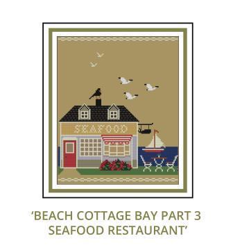 Beach Cottage Needleworks - Beach Cottage Bay Mystery Series - Part 3 Seafood Restaurant-Beach Cottage Needleworks - Beach Cottage Bay Mystery Series - Part 3 Seafood Restaurant