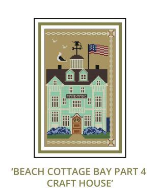 Beach Cottage Needleworks - Beach Cottage Bay Mystery Series - Part 4 Craft House-Beach Cottage Needleworks - Beach Cottage Bay Mystery Series - Part 4 Craft House