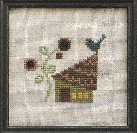 Bent Creek - Bluebird Cottage - Cross Stitch Kit-Bent Creek - Bluebird Cottage - Cross Stitch Kit