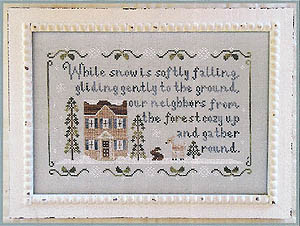 Country Cottage Needleworks - Forest Snowfall - Cross Stitch Pattern